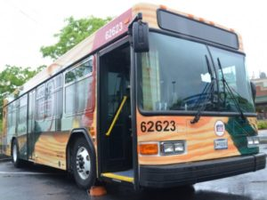 Route 1 Ride Bus Wrap, Credit Michael Theis, Hyattsville Patch